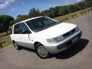 1997 Mitsubishi Nimbus UF GLX Wagon 7st 5dr Man 5sp 2.4i Mansfield Brisbane South East Preview