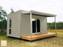 GRANNY FLAT CUSTOMISABLE COLORBOND KIT SHEDS Newcastle Newcastle Area Preview