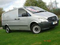 2011 Mercedes benz Vito 113CDI Van 6 door Panel Van
