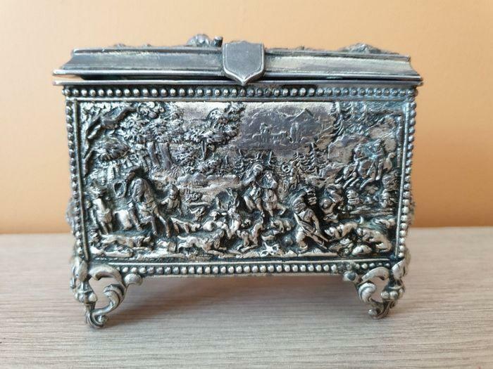 Boîte à bijoux - Métal argenté d'occasion
