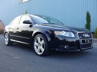 Fantastic Value And Great Condition 2006 Audi A4 1.9 Tdi S-LINE Saloon 106100 Miles Service History