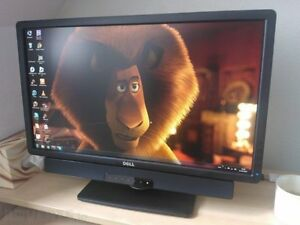 """23"""" dell p2312h monitor with dell ay511 sound bar"""