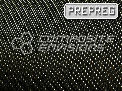 Silver Reflections Carbon Fiber Fabric 2x2 Twill Room Temp Prepreg