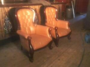 Antiques and Vintage Chairs.