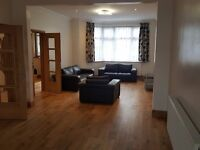 Newly refurbished ,5 bed,2 bath ,large dbl reception ,semi detached house with osp