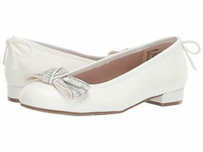 Stuart Weitzman Miss Bolshoibow Kids Dress Ballet Flat Size 5 Retailed $49 NWOT