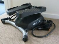Body Sculpture Lateral Exercise Stepper With Resistance Cords