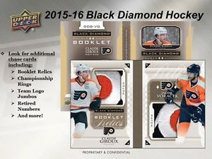 2015-16 Upper Deck Black Diamond Hockey Trading Cards Box Kitchener / Waterloo Kitchener Area image 5