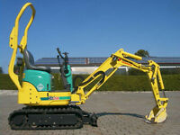 MINI DIGGER HIRE FROM £38 PER DAY