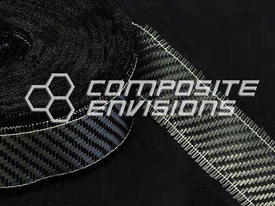 Carbon Fiber Cloth Fabric 2x2 Twill Weave 3k 5.8oz TAPE 1