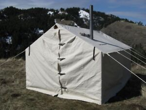 Outfitters Wall Tent & Stove Wall Tent | Kijiji in Alberta. - Buy Sell u0026 Save with ...