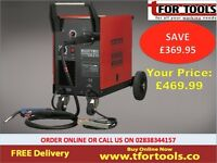 Sealey MIGHTYMIG210 Professional Gas / no-gas Mig Welder 210amp With Euro Torch