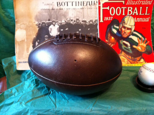 1920 Antique style Melon Football First Passing Ball