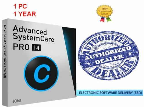 IOBIT Advanced SystemCare 14 PRO | 1 PC - 1 Year Subscription. Fast Delivery!