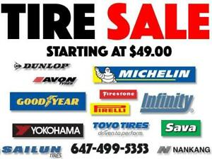 205/55/16 205/55R16 205 55 16 WINTER TIRES ON SALE - FREE INSTALLATION & BALANCING INCLUDED