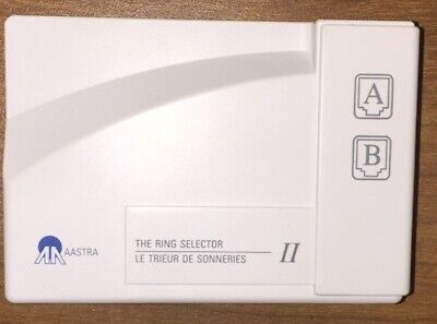 Aastra Ring Selector Ii Distinctive Ring Ident-a-call Phone Line Switch New