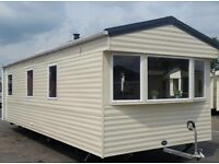 ABI VISTA PLATINUM 2011 3 BEDROOM 35X10FT STATIC CARAVAN