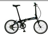 Dahon Vybe C7A Folding Bike - hardly used!