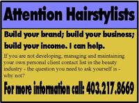 Hairstylists - Grow your client list; grow your income