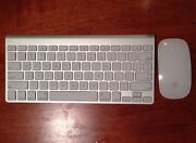 Apple Wireless Keyboard Magic Mouse