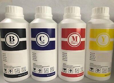 4 X Bulk Ink Refill For Epson Eco Tank Et-7700 Et 7700  4000 Ml - C Y M K