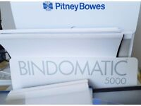 Bindomatic 5000 in mint condition with over 60 covers