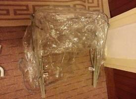 Universal pram pushchair raincover