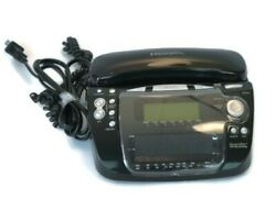 Emerson Research Smart Set Dual Alarm Clock Radio Telephone Caller ID CKT9087