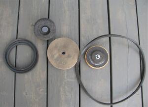 Accessoires pour meules pour divers travaux d'aiguisage et d'eff