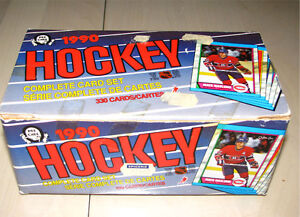 Carte de hockey O-Pee-Chee 1989-1990 (vintage) pour collectionne
