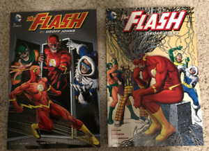 The Flash by Geoff Johns Book 1 and 2 Graphic Novel Comic