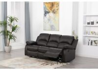 Kennison 3 Seater Reclining Sofa selling at £300