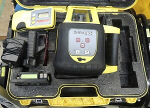 Duratech Transit Laser Level with Tripod and Pole