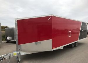 2018 New Enclosed Sled Trailer