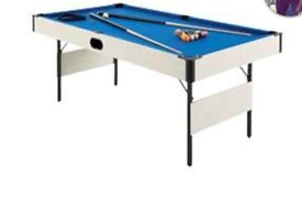 Pool table only used once or twice