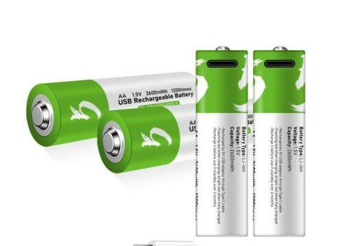 USB Lithium-Ion 1.5 V AAA / AA