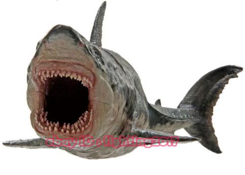 Megalodon Simulation Animal Model Boys Toy Marine Life Figure Paleontology Shark