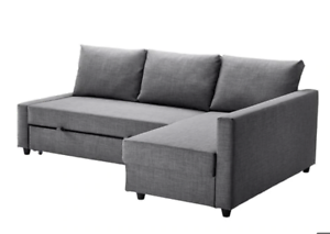 Sofa Bed With Storage Ikea Friheten Grey Color L Sectional Sofas
