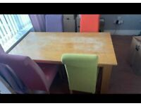 Table and chairs - £50 ONO