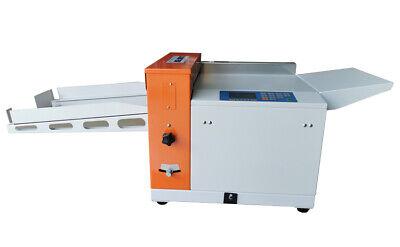 330mm Electric Paper Creasing Scoring Machinelines Perforated60 Sheetsmin
