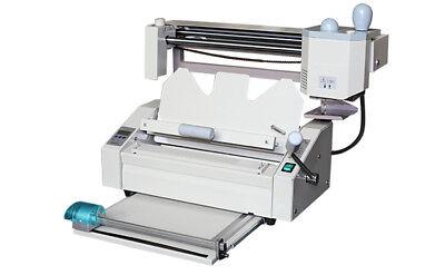 Desktop Perfect Binding Machine With Creaserperforatorspliter320mmx280mm
