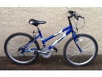 "Bike/Bicycle.GIRLS EMMELLE ""LIBERTY "" MOUNTAIN BIKE.SUIT 9-12 YEARS"