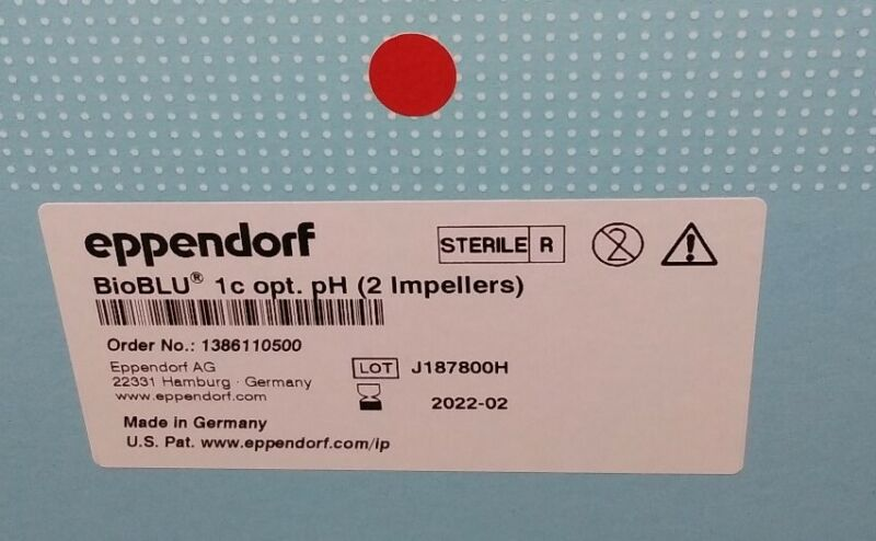 Eppendorf BioBLU Pyrogen-Free Sterile 1c opt. pH 2 Impellers