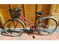 Vintage Raleigh Pioneer ladies bike