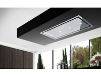 BRAND NEW Otello Stainless Steel & Stainless Steel Frame Ceiling Hood 90 cm