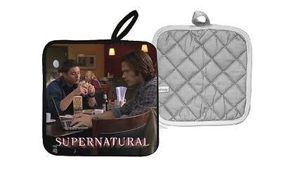 Supernatural Jensen Ackles Jared Padalecki Sam Dean Winchester Pot Holder