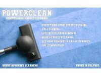 Powerclean Ni carpet and upholstery cleaning OFFER!! 25% OFF