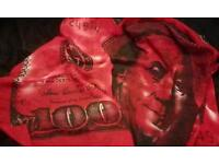 100 US Dollar Scarf, Red & Black to make you stand out!