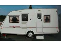 2002 ABI touring caravan