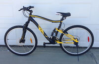 Men's CCM full suspension bike